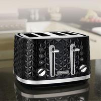 Vector 4 Slice Toaster Black
