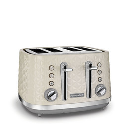 Vector 4 Slice Toaster Cream