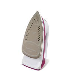 303123 Turbosteam Pro Steam Iron Pink
