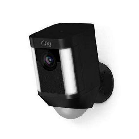 Ring Spotlight Battery Cam Black