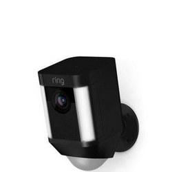 Ring Spotlight Battery Cam Black