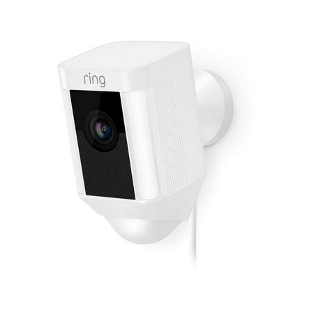 Ring Spotlight Battery Cam White