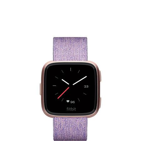 Versa Watch Lavender Woven