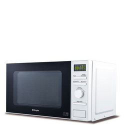 Microwave 20L Stainless Steel Interior White