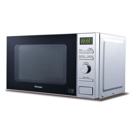 Microwave 20L Stainless Steel Interior Silver