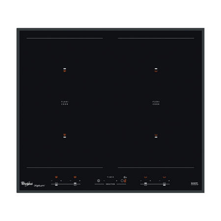 60cm Induction Hob with 6th Sense Black