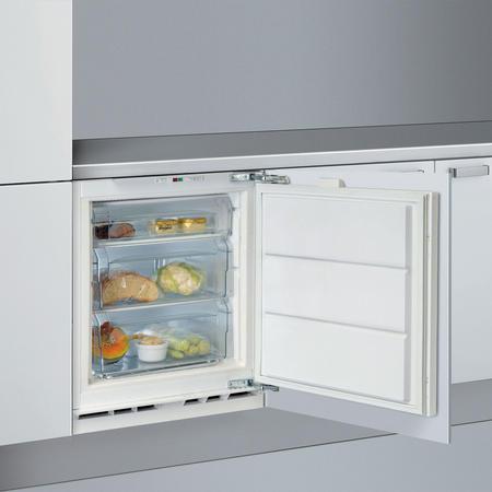 Undercounter Freezer Black