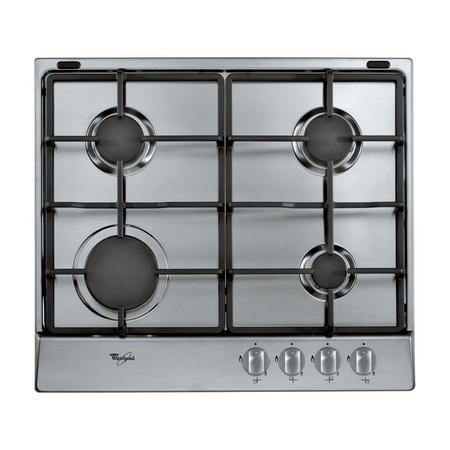 60cm Gas Hob with Inox Anti Fingerprint Stainless Steel