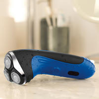 Wetec 3 Head Rotary Shaver Wet And Dry Blue
