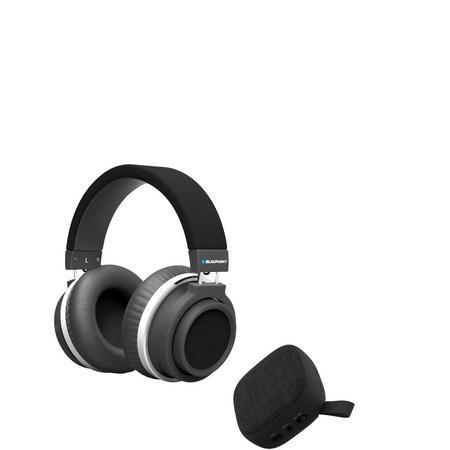 Wireless Headphones & Bonus Speaker