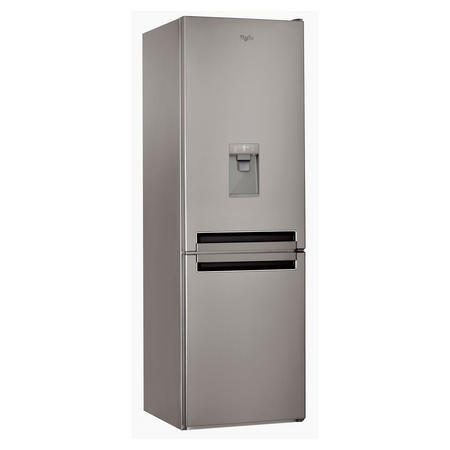 60cm 60/40 Stainless Steel Fridge Freezer with Water Dispenser