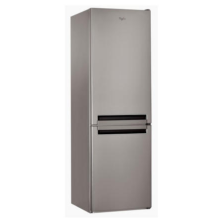 60cm 60/40 2 Metre High Stainless Steel Fridge Freezer
