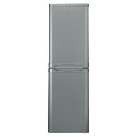 55cm Fridge Freezer 234L Silver Finish