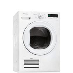 7kg Condenser with 6th Sense White
