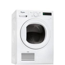8kg Condenser with 6th Sense White