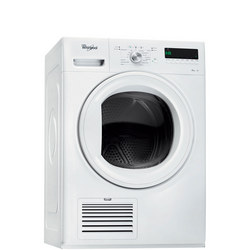 9kg Heatpump Condenser Dryer with 6th Sense White