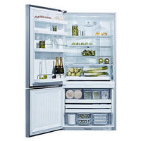 Frost Free Fridge Freezer Silver