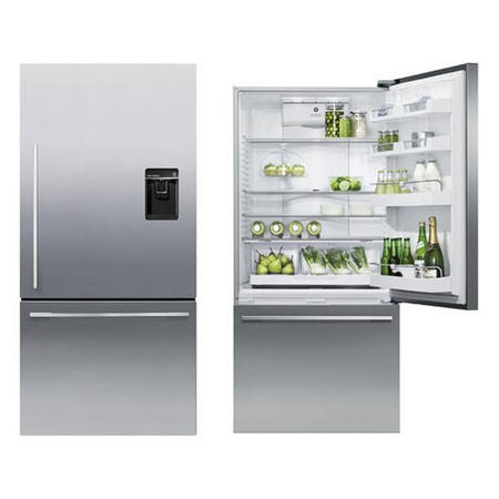 Fridge Freezer Silver