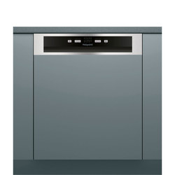 AQUARIUS with 13 Place Setting Semi Integrated Dishwasher Black