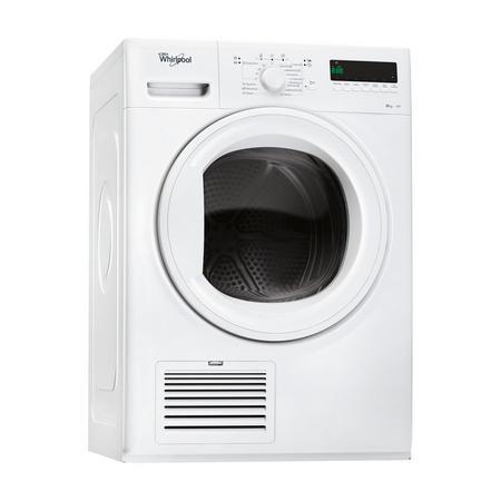 8kg Heatpump Condenser Dryer with 6th Sense White