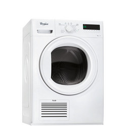 8kg Heatpump Condenser Dryer with 6th Sense White