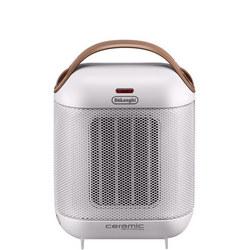 Portable Ceramic Technology Heater Capsule Silver Tone