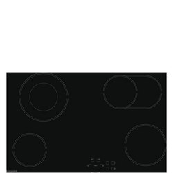 70cm Ceramic Hob Ceramic Hob 4 Cooking Zones Black