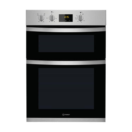 42/70L Electric Double Oven with Easy To Clean Enamel cleaning