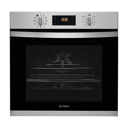 Aria Collection 71 Litre Multifunction Single Oven with EcoClean cleaning