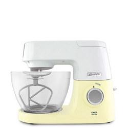 Chef Sense Kitchen Machine White & Yellow