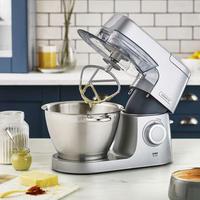 Chef Elite Food Mixer Silver Tone