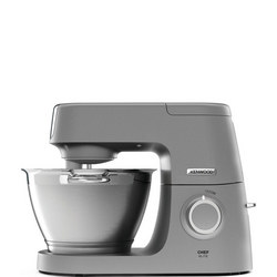 Chef Elite Food Mixer Silver Tone