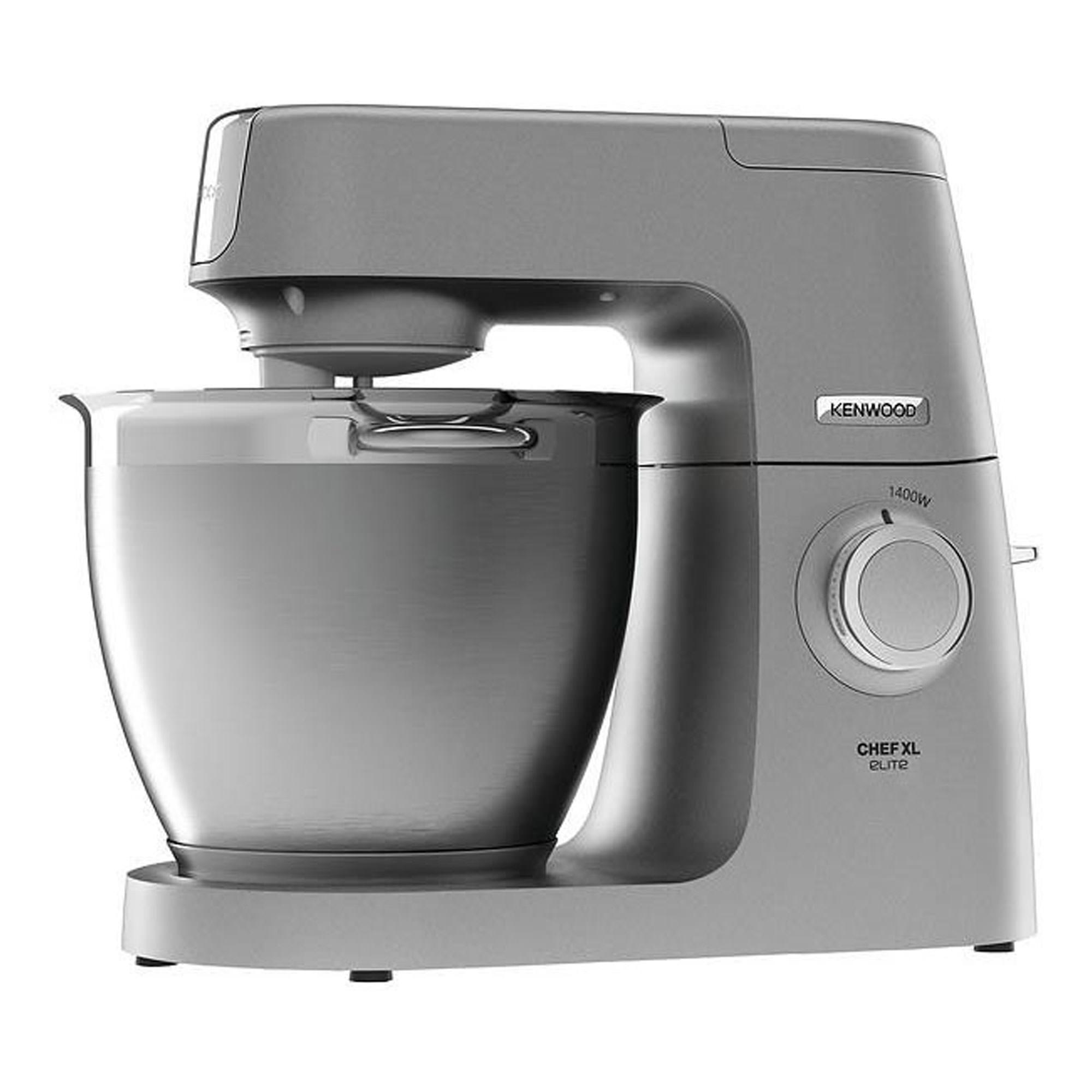 5600KVL6100SSILVERTONE: Elite Chef XL Food Mixer Silver Tone