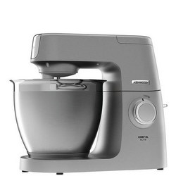 Elite Chef XL Food Mixer Silver Tone