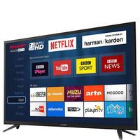 "65"" 4K Ultra HD LED Smart TV Grey"