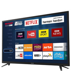 "65"" 4K Ultra HD LED Smart TV Grey"