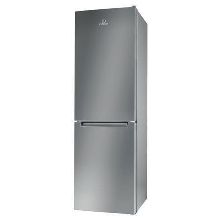 60cm Frost Free Fridge Freezer 296L Silver Finish