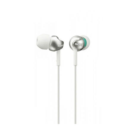 In Ear Headphones With Rich Deep Bass White