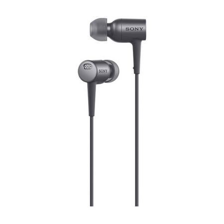 In Ear Noise Cancelling Headphones With Mic Black