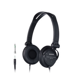Black Dj Monitoring Headphones With Reversible Earcups Black