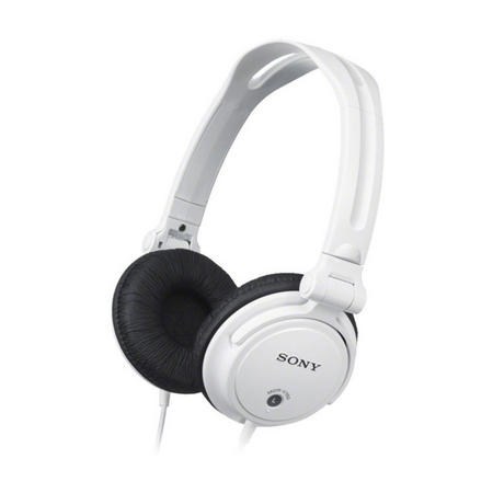 Headphones With Reversible Housing White