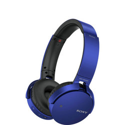 Extra Bass Bluetooth Headphones Blue