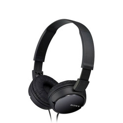 Supra Aural Closed Ear Headphones Black