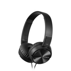Smartphone Compatible Noise Cancelling Headphones Black