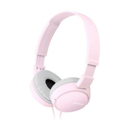 Supra Aural Closed Ear Headphones Pink