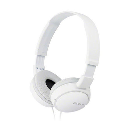 Supra Aural Closed Ear Headphones White