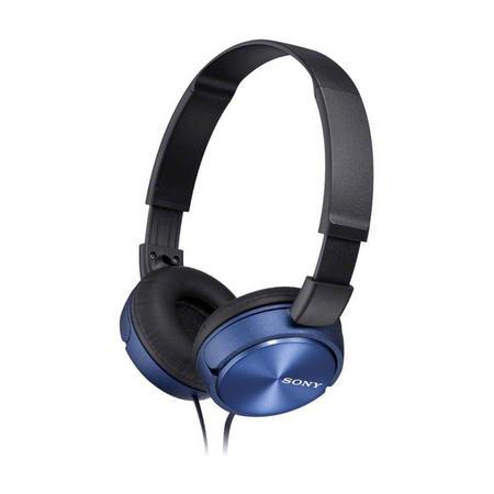 Folding Headphones Blue