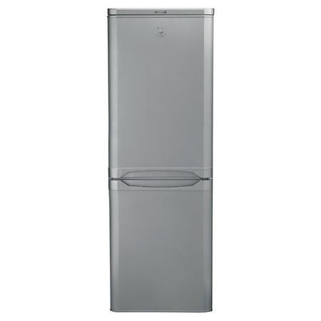 55cm 206L Fridge Freezer Silver Finish