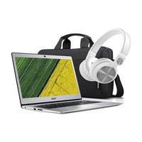 "Acer 13.3"" Ultra Light, 4GB RAM, 64GB eMMc, Pentium Notebook Silver Tone - Back to School Bundle"