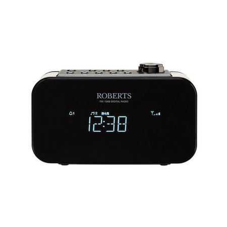 Ortus 2 Alarm Clock Radio Black